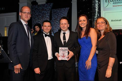 UK Claims Excellence Awards 2013 Outstanding Broker Claims Team of the Year